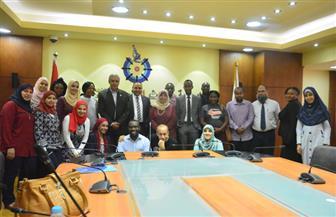 أكاديمية البحث العلمي تستضيف 12 متدربًا من الدول الإفريقية بمكتب براءات الاختراع | صور