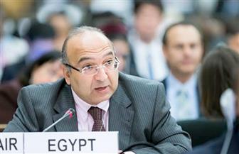 السفير عمرو رمضان يبحث سبل تعزيز التعاون مع السويد