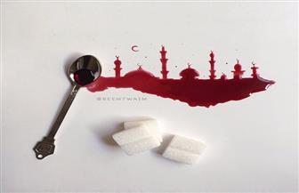 تعرف على الرسامة السعودية التي ترسم بالقهوة والشاي والسكر والشربات والشيبسي  صور