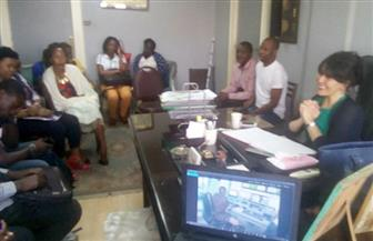 رئيسة شبكة البرنامج الأوروبي تلتقي بوفد الإعلاميين الأفارقة في ورشة عمل عن برامج التوك شو
