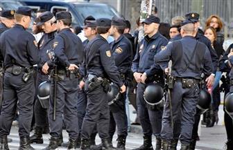 إصابة 6 ضباط شرطة خلال اشتباكات بمظاهرة في كتالونيا