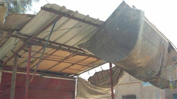 رئيس مركز الحسينية: إزالة 57 حالة إشغالات|صور