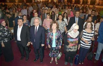 تظاهرة حب وتقدير في تكريم ليلى طاهر بالقومي للمسرح - صور