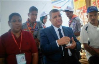 رئيس جامعة سوهاج يشهد افتتاح معسكر الجوالة بالمنوفية