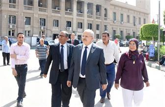 رئيس جامعة القاهرة يتفقد استعدادات الحرم الجامعي لاستقبال العام الدراسي الجديد