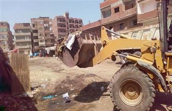 رفع 75 طن قمامة وتكثيف أعمال التجميل في منطقة المقابر بقطور