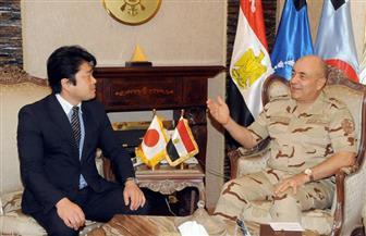 رئيس الأركان يلتقي وزير الدفاع الياباني ويعرب عن تطلعه إلى توسيع التعاون العسكري مع مصر | صور