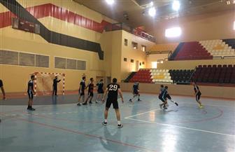 فوز حلوان والسويس والإسكندرية في منافسات كرة اليد بأسبوع شباب الجامعات |صور