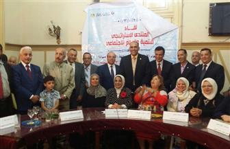 """علاء رزق: تجربة دمياط في التنمية يجب أن تدرس.. و""""رضوان"""": مشروع قانون للبرلمان يُعاقب المتسرب من التعليم"""
