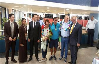 مطار مرسي علم يحتفل بعيد زواج ملياردير هولندي  صور