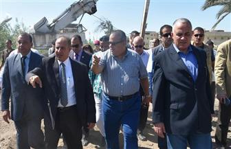 وزير الموارد المائية والرى يتفقد استعدادات مصرف القلعة بالإسكندرية استعدادا لموسم الشتاء