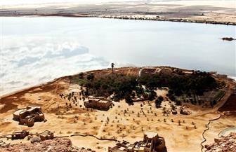 """رئيس قطاع الآثار الإسلامية والقبطية يتفقد قرية """"شالي"""" العتيقة بواحة سيوة تمهيدًا لبدء ترميمها"""