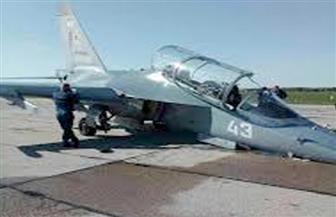 """تحطم طائرة روسية من طراز """"ياك 130"""""""