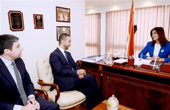 نبيلة مكرم: نسعى لحل قضايا الهجرة غير الشرعية وتوفير البدائل بالتدريب والتأهيل   صور