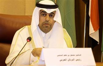رئيس البرلمان العربي يهنئ الملك سلمان وولي عهده برئاسة المملكة مجموعة العشرين ويثمن دورها المحوري