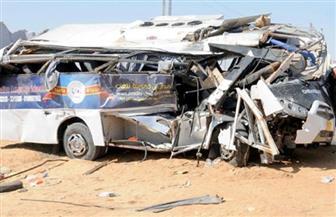 إصابة ثلاثة أشخاص في حادث تصادم حافلتين بطرق الإسماعيلية الصحراوي