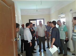 """رئيس مدينة """"قطور"""" يتابع القطاعات الخدمية ورفع الإشغالات بقرية """"بلتاج""""   صور"""