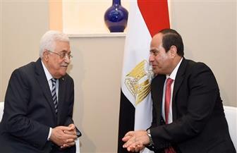 """حزب """"المصريين"""": لقاء الرئيس السيسي وأبو مازن تأكيد لدور مصر المحوري في القضية الفلسطينية"""