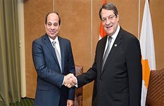 الرئيس السيسي يلتقي نظيره القبرصي في نيويورك