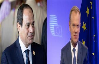 الرئيس السيسي يلتقي رئيس المجلس الأوروبي على هامش اجتماعات الأمم المتحدة
