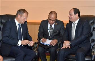 تفاصيل لقاء الرئيس السيسي مع رئيس المجلس الأوروبي على هامش اجتماعات الأمم المتحدة