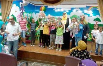 """""""دار الكتب"""" تحتفل بختام الأنشطة الصيفية بمكتبة الأطفال"""