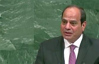 الرئيس السيسي: مصر تقع على حافة أخطر بؤر الأزمات في العالم