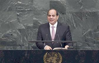 وسائل الإعلام العربية والدولية تبرز كلمة الرئيس السيسي أمام الجمعية العامة للامم المتحدة
