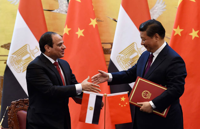 السياسة الخارجية الصينية تجاه مصر منذ عام 2011