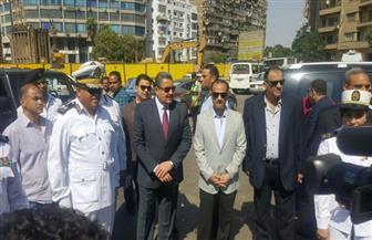مدير أمن الجيزة يتفقد الإجراءات الأمنية في ثاني أيام العيد