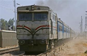"""قطار يدهس شخصين لدي عبورهما مزلقان """"ميت عساس"""" بالغربية"""