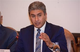 وزير الطيران يبحث مع سفير رواندا تعزيز التعاون المشترك