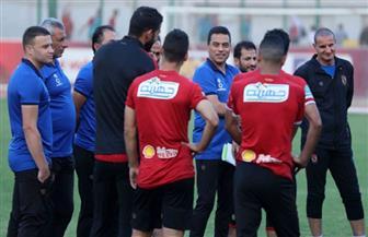"""الأهلي يخوض مرانه الأول في تونس الثامنة مساء.. والبدري يجهز اللاعبين بـ""""محاضرة فنية"""""""