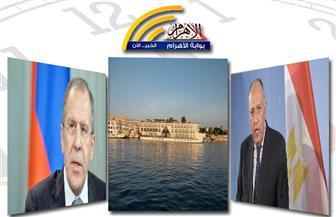 إشادة روسية بمصر.. ملف مياه النيل.. إنقاذ فندق عائم.. وتحطم طائرة بنشرة منتصف الليل