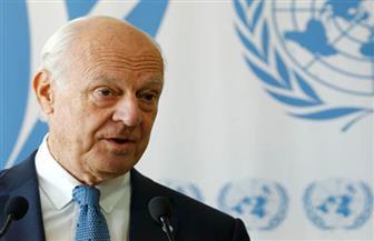 """""""دي ميستورا"""" يتوقع محادثات صعبة لاتفاق وقف إطلاق النار في الغوطة الشرقية"""