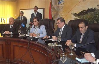 وزيرة التخطيط تنتهي من تفقد ساحل بحيرة قارون وتتوجه لقرية تونس بالفيوم