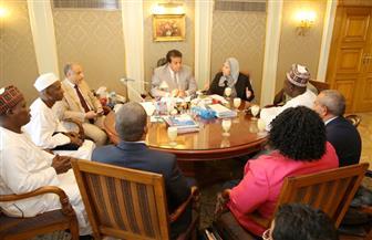 وزير التعليم العالي: حريصون على تفعيل علاقات التعاون العلمي مع إفريقيا