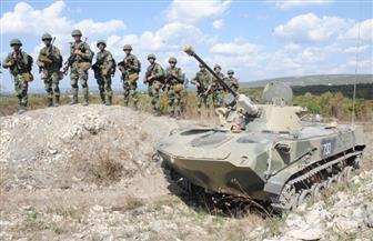 """ختام فعاليات التدريب المشترك لقوات المظلات المصرية والروسية """"حماة الصداقة 2"""""""