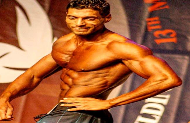 مصري يحصل على المركز الخامس في مسابقة  أرنولد كلاسيك  لكمال الأجسام بإسبانيا   صور -