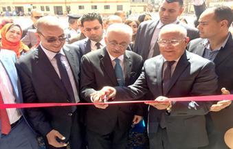 بتكلفة 3 ملايين جنيه.. وزير التعليم ومحافظ بورسعيد يفتتحان مبنى جديدًا بمدرسة القناة | صور