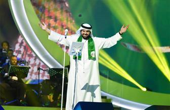 تكريم المطرب حسين الجسمي في اليوم الوطني السعودي | صور