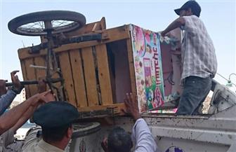 """""""مرافق الغربية"""" ترفع 371 حالة إشغال وتزيل 20 حاجزا خرسانيا بالمراكز"""