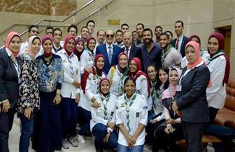 """بحضور الفنان محمد صبحي.. """"طب الإسكندرية"""" تنظم حفل استقبال للطلاب الجدد   صور"""