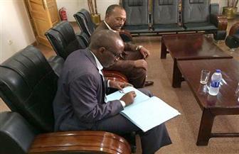 سفير رواندا يزور متحف النيل بأسوان   صور