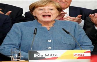 ميركل تلقي خطاب النصر بعد فوز حزبها الاتحاد الديمقراطي في الانتخابات البرلمانية