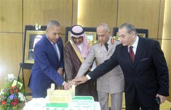 القنصلية السعودية بالسويس تحتفل باليوم الوطني للمملكة   صور
