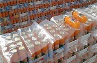 ضبط 4080 عبوة عصير منتهية الصلاحية بمصنع  فى سوهاج