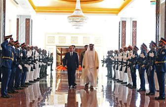 الرئيس السيسي: العلاقة بين مصر والإمارات نموذج للتعاون الإستراتيجي بين الدول العربية