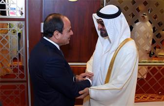 الرئيس السيسي يحضر المجلس الأسبوعي للشيخ محمد بن زايد آل نهيان
