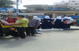 حملة أمنية بمحيط المدارس في بلقاس لضبط المخالفين  صور